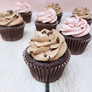 Family Bakery cupcakes malina cokolada