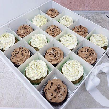 Family Bakery cupcakes cokolada matcha