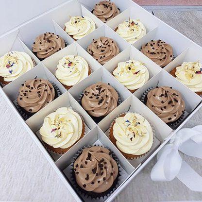 Family Bakery cupcakes cokolada vanilka