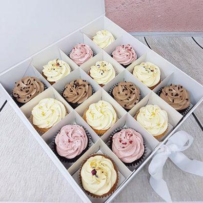 Family Bakery cupcakes cokolada vanilka malina citron