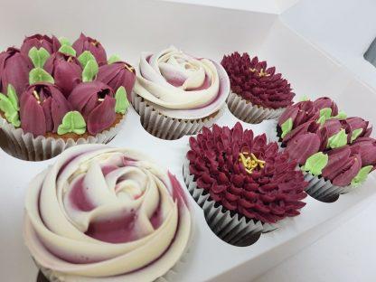 Květinové cupcakes 6ks