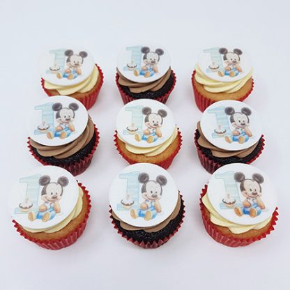 Cupcakes s mickey mousem