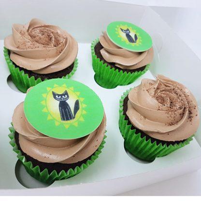 Slunicko cupcakes 16ks