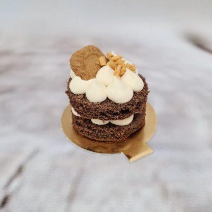 Čokoládový mini dortík s karamelovým krémem