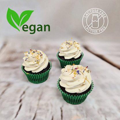 veganské cupcakes