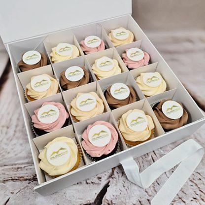 Logo cupcake square