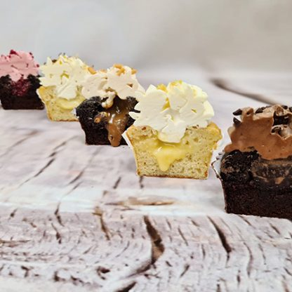 Plněný cupcake