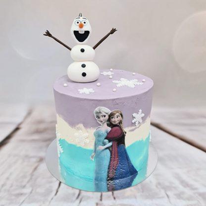Ledové království - frozen dort